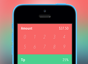 Simple Tipper for iOS